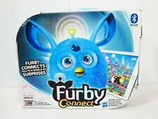 Furby Connect Exclusive Launch Hasbro Bluetooth Teal Blue GUC w/ Box