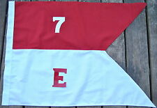 Cotton 7th Cavalry E Troop Guidon Flag     Made in USA