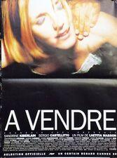"""""""A VENDRE"""" Affiche originale (Laetitia MASSON / Sandrine KIBERLAIN)"""