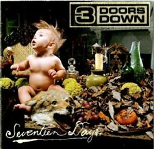 3 Doors Down ‎– Seventeen Days  NEW MINT SEALED, CD with Booklet