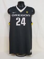 2012-2013 Oregon DUCKS TEAM ISSUED Nike BASKETBALL JERSEY   Men's 48 L +2