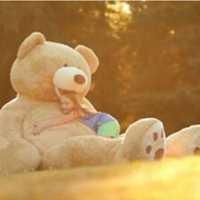 """134"""" 340cm 11.1ft Giant Teddy Bear CASE UNFILLED NO PP COTTON Huge Dolls Toy"""