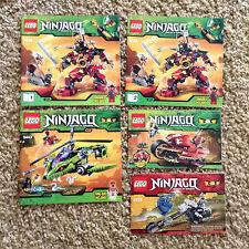 Ninjago Lego Spinjitzu Manuals Lot 9448 (1&2) 9443 9441 2259 Instruction ONLY #4