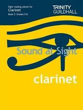 Sound at Sight Clarinet Book 2: Grades 5-8: Sample Sight Reading Tests for Trini