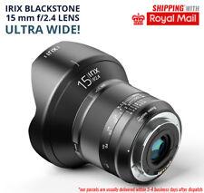 IRIX BLACKSTONE 15 mm f/2.4 Lens Ultra Wide Angle FOR NIKON D750 D800 D850 D3 D5
