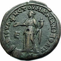 SEVERUS ALEXANDER & JULIA MAESA Marcianopolis Ancient Roman Coin w HERA i78918