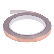 20 Meters 10mm Single Conductive Adhesive EMI Shielding Copper Foil Tape #JT1