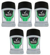 5x Rexona Quantum Anti-perspirant Deodorant Solid Stick for Men 5x 50ml Sure