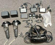 HTC Vive, Link Box, 2x Base stations, Mounts, Cables etc