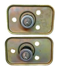1960-1962 Corvette Hood Lock Or Latch Assemblies Restored Original Pair