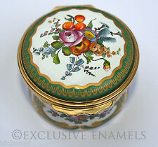 Halcyon Days Enamels Sevres Flowers Wallace Collection Enamel Box