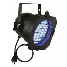 Showtec LED Par 56 RGB Lighting Can Disco DJ Uplighter Black 42421-01