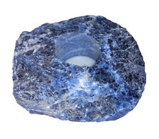 Sodalite Blue Tea Light Holder Tea Light Natural Gemstone Holder 1Kg