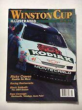 WINSTON CUP ILLUSTRATED PAPERBACK MAGAZINE - JULY 1996 KODIAK CAR COVER