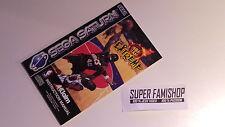 La Notice pour le jeu NBA JAM extreme / pour Console Sega Saturn