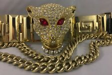 Original Versace for H&M - Panther Choker Necklace - Rare! Free Shipping! Flaws.