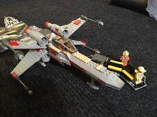 Lego Star Wars X-Wing (7140) w/ Luke Skywalker, R2D2, Biggs Darklighter minifigs