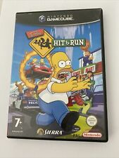 nintendo gamecube The Simpsons Hit And Run Complet