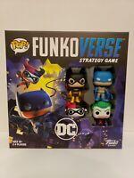 New sealed Funko Pop! Funkoverse Batman Board Game DC Comics #100 Base Set