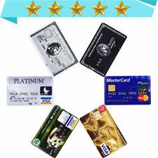 USB Flash Drive Stick 1MB-64GB Credit Card Model Memory Stick Lot Waterproof us