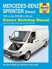 HAYNES WORKSHOP SERVICE REPAIR MANUAL MERCEDES-BENZ SPRINTER DIESEL 1995-2006