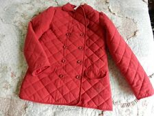NWT Crazy 8 Dark Red Quilted Jacket Size XL Extra Large 14