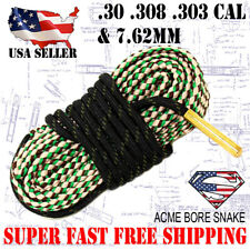 Boresnake Rifle .30 .308 .30-06 7.62 Gun Cleaner Bore Snake Cleaning Kit