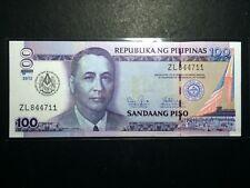 Philippines NDS 100 Pesos 2012 Mason Commemorative Banknote