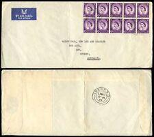 Elizabeth II (1952-Now) Pre-Decimal British Air Mails Stamps