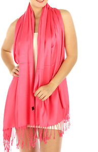 Fashion Satin Solid Pashmina 40 Colors