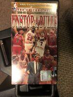 NBA Championship Chicago Bulls 1995-96 UNSTOP.A.BULLS VHS 1996 Basketball Movie