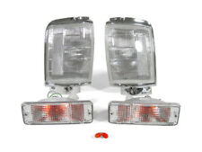 1984 1985 1986 TOYOTA PICKUP TRUCK 2WD CLEAR CORNER LIGHTS + BUMPER SIGNAL LIGHT