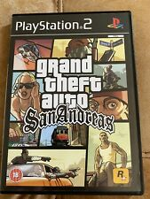 Grand Theft Auto San Andreas - PS2 - PlayStation 2 - With Map - FREE DELIVERY