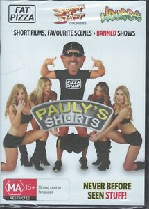 PAULY'S SHORTS Paul Fenech DVD Featuring Fat Pizza, Housos NEW & SEALED