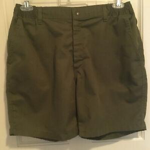 Boy Scouts Of America BSA Men's Uniform Shorts Green Size 36