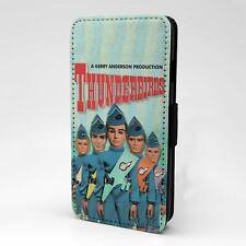 For Apple iPod Touch Flip Case Cover Thunderbirds Scott Tracy Virgil - T878