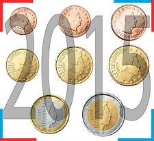 Luxembourg 2015 Serie 8 monnaies euros S//C - (8 pièces de monnaie) UNC
