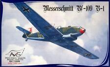 Avis Models 1/72 MESSERSCHMITT Bf-109B-1 Early German Fighter