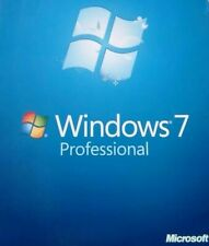 Microsoft Windows 7 Pro 64 Bit SP1 Full Version Install DVD w/ Product Key
