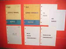 1965 CORVETTE CADILLAC BUICK PONTIAC OLDSMOBILE DELCO AM-FM RADIO SERVICE MANUAL