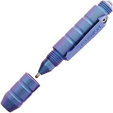 "Stedemon EDC Tactical Pen Blue Body Blue Ink 2.875"" long STEP01BLU"