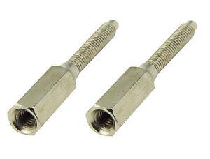 Brass Nickel Gold Socket Screws extension 30 50 75mm or Re-Threader 3.5mm 40