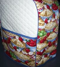 Apple Pie Bakery Quilted Fabric Cover for KitchenAid Mixer NEW