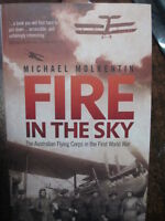 History AFC WW1 Fire in the Sky Australian Flying Corps in WWI by M Molkentin