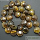 """Natural Tiger's Eye Gemstone 10mm 14mm Free Formed Round Coin Loose Beads 15"""""""