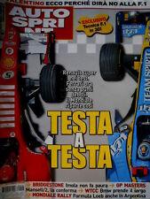 Autosprint 18 2006 Renault super nei test. Rally Formula Loeb in Argentina SC.58