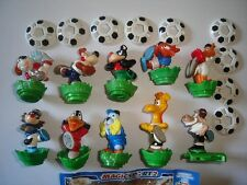 KINDER SURPRISE SET - MAGIC SPORT 2 SOCCER ANIMALS 2008 - FIGURES COLLECTIBLES