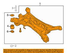 KIA OEM 2017 Sportage Rear Suspension-Frame Crossmember 55405D3250