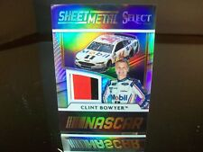 Clint Bowyer Panini Sheet Metal Select Race-Used 2017 Card #SM-BO 2 Colors Prizm