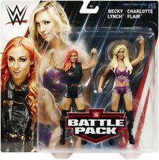 Charlotte Flair & Becky Lynch - WWE Battle Packs 55 Mattel Action Figures